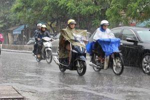 Bắc Bộ tuần tới có mưa dông