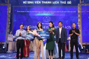 Nữ sinh Đại học Hà Nội đăng quang Nữ sinh viên thanh lịch Thủ đô năm 2019