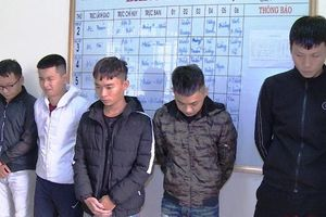 Thanh Hóa: Lừa đảo qua mạng xã hội, 5 đối tượng bị bắt