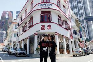 Khu ẩm thực sầm uất Singapore trong ảnh check-in của Đông Nhi