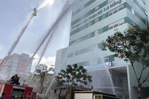 Bệnh viện Hoàn Mỹ thực tập phương án chữa cháy