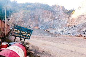 Sở TN&MT Điện Biên: Buông lỏng trong quản lý khoáng sản