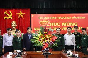 Chúc mừng Học viện Chính trị Quốc gia Hồ Chí Minh nhân Ngày Nhà giáo Việt Nam