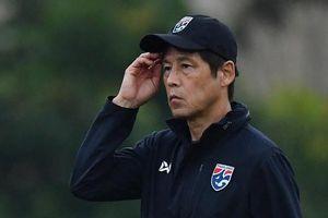 HLV Nishino: 'Cầu thủ Thái Lan quá quen với mặt sân Mỹ Đình'
