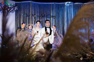 Đám cưới đẹp như mơ của 'BTV Thời sự trẻ nhất VTV' Thu Hà