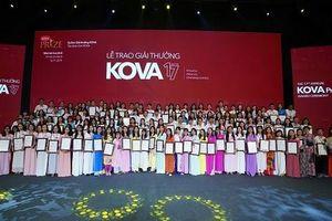 Giải thưởng KOVA hướng tới các giá trị khoa học, nhân văn và hỗ trợ thế hệ trẻ