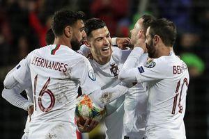 Bồ Đào Nha chính thức giành vé dự vòng chung kết Euro 2020