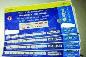 Giá vé xem trận Việt Nam - Thái Lan đẩy lên 6 triệu đồng/cặp vị trí đẹp