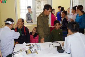 Ấm tình quân dân nơi biên giới Mường Nhé Điện Biên