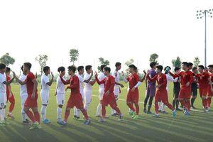 U22 Việt Nam 'bí mật' đá giao hữu, hòa 2-2 với U22 Myanmar