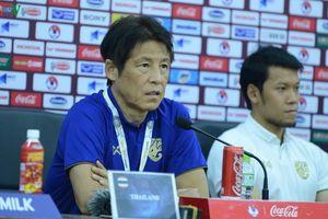 HLV Nishino thừa nhận bị áp lực khi Thái Lan gặp Việt Nam ở Mỹ Đình
