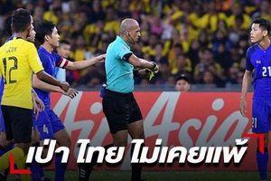 Trọng tài may mắn bắt chính, tuyển Thái Lan tự tin không thua Việt Nam
