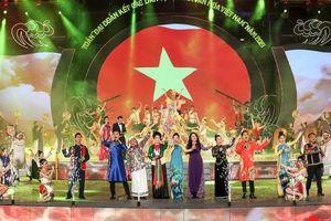 Hình ảnh ấn tượng trong lễ khai mạc tuần 'Đại đoàn kết các dân tộc - Di sản Văn hóa Việt Nam' năm 2019