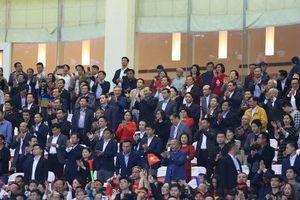 Lãnh đạo Đảng và Nhà nước dự khán trận Việt Nam - Thái Lan vòng loại thứ 2 Word Cup 2022