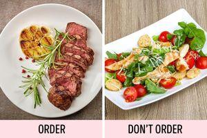 6 sai lầm ai cũng từng mắc phải khi ăn uống ở nhà hàng