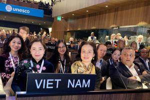 Việt Nam tham dự Diễn đàn Bộ trưởng Văn hóa UNESCO