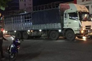 Xe tải biển số Lào gây tai nạn thương tâm