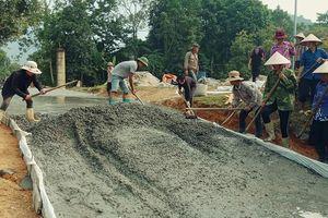 Khó khăn trong xây dựng nông thôn mới ở các xã vùng sâu, vùng xa