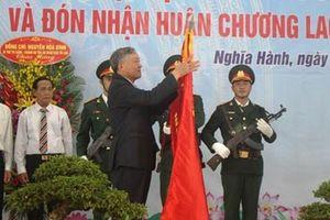 Quảng Ngãi: Trao huân chương cho huyện đầu tiên đạt chuẩn nông thôn mới