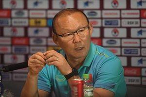 HLV Park Hang Seo: Kết quả hòa có thể xem là một nửa thành công