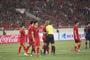 Bị trọng tài xử ép, đội tuyển Việt Nam hòa tiếc nuối Thái Lan