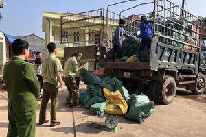 Lạng Sơn: Liên tiếp bắt các vụ vận chuyển thực phẩm bẩn