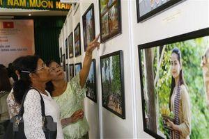 Khai mạc Triển lãm 'Campuchia - Vương quốc văn hóa' tại Việt Nam