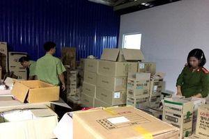 Phát hiện lượng lớn thuốc chống say tàu xe, sữa hộp in chữ Hàn Quốc không rõ nguồn gốc