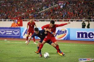 Việt Nam bất phân thắng bại với Thái Lan tại SVĐ Mỹ Đình
