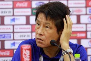 HLV Akira Nishino tỏ ra bực bội khi nghe một câu 'hỏi xoáy đáp xoay' của phóng viên Việt Nam