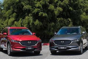 Mazda CX-8 tiếp tục tăng ưu đãi, quyết đấu Hyundai SantaFe