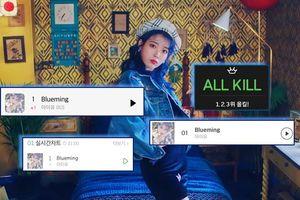 Thành tích đáng gờm của 'Blueming' (IU): Càn quét tất cả BXH âm nhạc trong thời gian ấn tượng