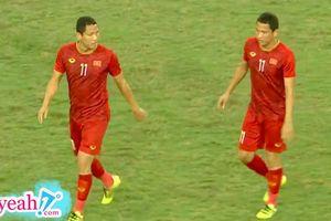 Những giây phút cuối cùng thi đấu trong màu áo đội tuyển quốc gia của cầu thủ Anh Đức