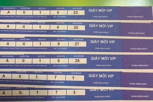 Sát trận đấu Việt Nam - Thái Lan, xuất hiện cặp vé siêu VIP giá gần 12 triệu đồng