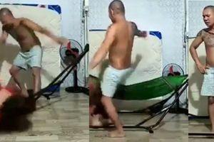 Người đàn ông đánh vợ quay clip đã ra trình diện và nhận sai tại cơ quan chức năng