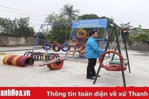 Xây dựng khu vui chơi miễn phí đầu tiên cho trẻ em tại huyện Quảng Xương