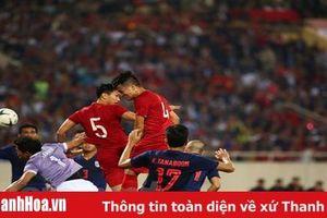 Hòa Việt Nam, Thái Lan tụt xuống vị trí thứ 3 tại bảng G