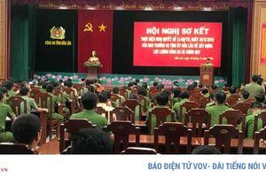 Công an tỉnh Đắk Lắk đã điều động hơn 450 cán bộ về cơ sở