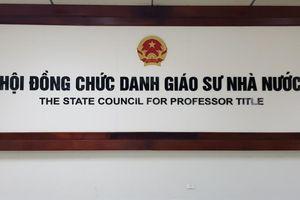 16 ứng viên 'trượt' giáo sư, phó giáo sư: Hội đồng Giáo sư Nhà nước lý giải nguyên nhân