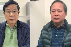 Hai cựu Bộ trưởng Nguyễn Bắc Son, Trương Minh Tuấn sắp hầu tòa