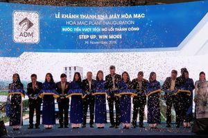 Tập đoàn ADM khánh thành Nhà máy sản xuất thức ăn chăn nuôi Hòa Mạc