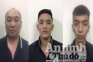 Bắt nhóm tội phạm cướp giật tài sản với sợi dây chuyền trị giá 101 triệu đồng