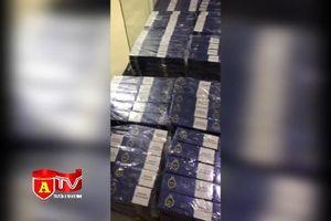 Công an huyện Mê Linh phát hiện thu giữ hàng nghìn cây thuốc lá ngoại nhập lậu