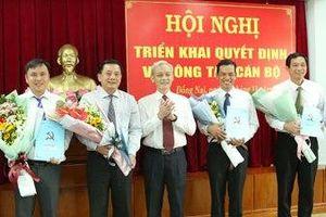 Điều động, bổ nhiệm nhân sự 7 địa phương