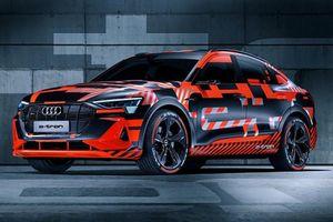 Audi E-tron Sportback sẽ sở hữu công nghệ độc nhất thế giới