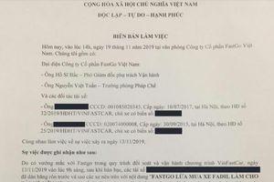 FastGo xem xét rút đơn khởi kiện tài xế gây rối