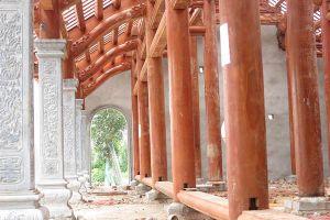 Chùa chồng lấn đất đền thiêng: Chi tiết về quyết định chỉ sau 1 ngày