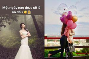 Hoa hậu Phạm Hương đăng ảnh mặc váy trắng, nôn nao đến ngày làm cô dâu