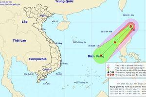 Bão Kalmaegi gặp không khí lạnh nhanh chóng suy yếu thành áp thấp nhiệt đới