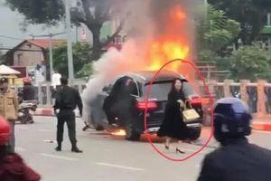 Hà Nội: Nữ tài xế Mercedes GLC gây tai nạn liên hoàn không sử dụng rượu, bia